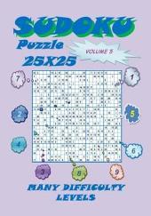 Sudoku Puzzle 25X25, Volume 5: Volume 5