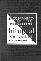 Language Processing in Bilingual Children PDF