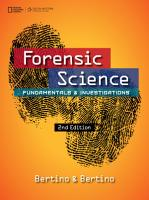 Forensic Science  Fundamentals and Investigations PDF