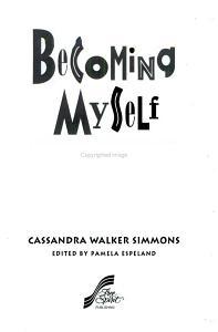 Becoming Myself Book