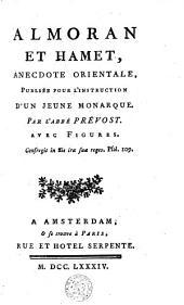Almoran et Hamet: anecdote orientale publiée pour l'instruction d'un jeune monarque