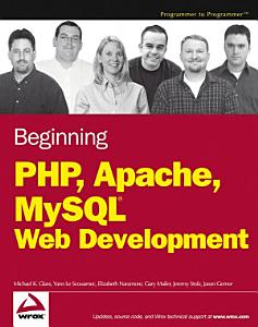 Beginning PHP  Apache  MySQL Web Development PDF