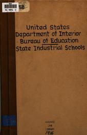 State Industrial Schools