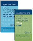 Blackstone s Police Operational Handbook 2018  Law   Practice and Procedure Pack PDF