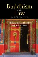 Buddhism and Law PDF