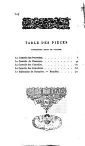 Ancien Théâtre François ou Collection des ouvrages dramatiques les plus remarquables depuis les mystères jusqu'à Corneille: Volume9