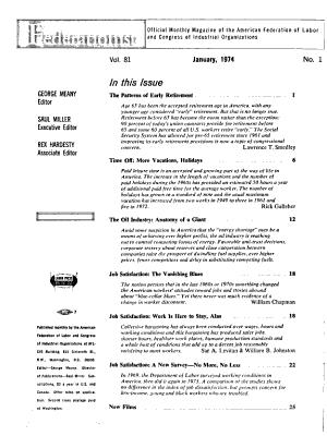 The AFL CIO American Federationist PDF