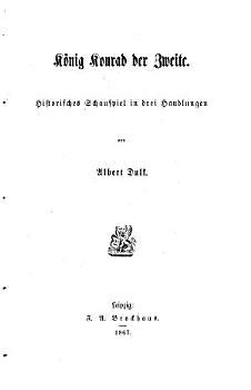 K  nig Konrad der Zweite PDF