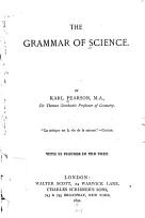 The Grammar of Science PDF