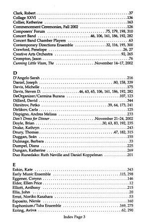 School of Music Programs PDF