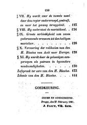 Parochieboek of beschryving van van Jabbeke, gevolgd door een levensschets van den heiligen Blasius