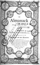 An Almanack for the Year of Our Lord ...
