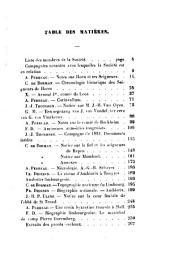Bulletin de la Société Scientifique et Littéraire du Limbourg: Volume4