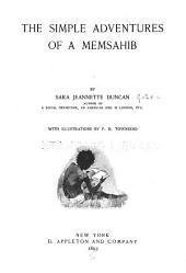 The Simple Adventures of a Memsahib