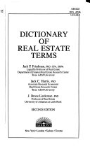 Dictionary of Real Estate Terms