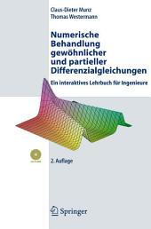 Numerische Behandlung gewöhnlicher und partieller Differenzialgleichungen: Ein interaktives Lehrbuch für Ingenieure, Ausgabe 2