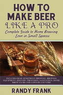 How to Make Beer Like a Pro PDF
