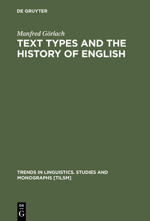Text Types and the History of English PDF