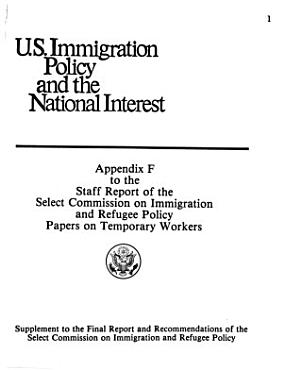 U S  Immigration Policy and the National Interest PDF
