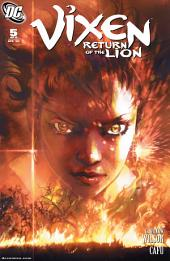 Vixen: Return of the Lion (2008-) #5