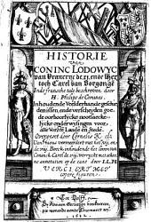 Historie van coninc Lodowyc van Vrancryc de XI. ende hertoch Carel van Borgongen