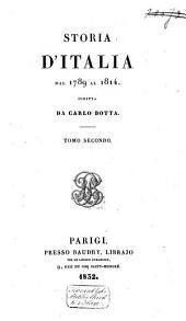 Storia d'Italia dal 1789 al 1814: Volume 2