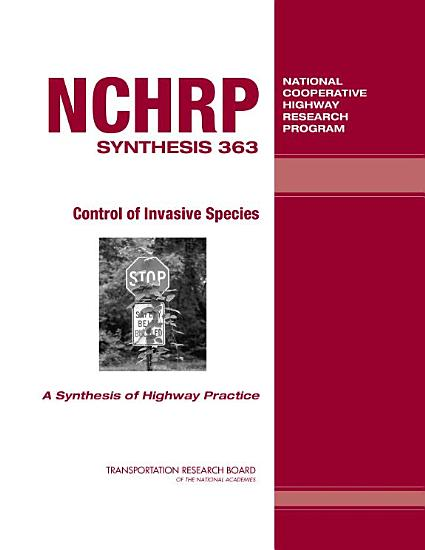 Control of Invasive Species PDF