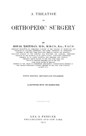 A Treatise on Orthopedic Surgery