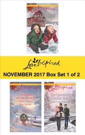 Harlequin Love Inspired November 2017 - Box Set 1 of 2: Secret Christmas Twins\The Rancher's Christmas Baby\Christmas Eve Cowboy\The Lawman's Yuletide Baby