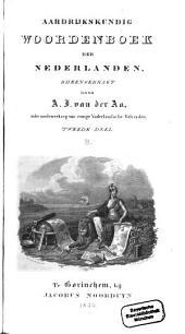 Aardrijkskundig Woordenboek der Nederlanden: B, Volume 2