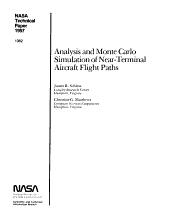 Analysis and Monte Carlo Simulation of Near-terminal Aircraft Flight Paths