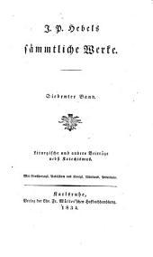 Sämmtliche werke: Liturgische und andere Beiträge nebst Katechismus, Band 7