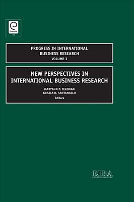 New Perspectives in International Business Research