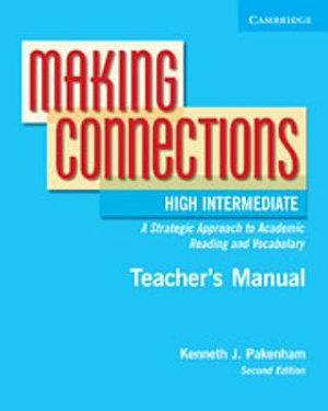 Making Connections High Intermediate Teacher s Manual PDF