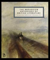 Broadview Anthology of British Literature  The  Concise Edition  Volume B PDF