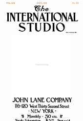 The International Studio: Volume 59