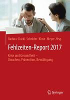 Fehlzeiten Report 2017 PDF