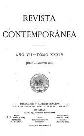 Revista contemporánea: Volumen 34