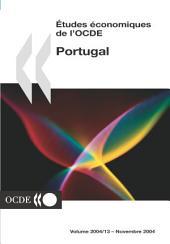 Études économiques de l'OCDE : Portugal 2004