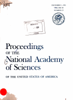 Proceedings of the National Academy of Sciences of the United States of America PDF