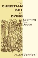 The Christian Art of Dying PDF