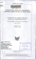 Twenty five Years of Acquisition Reform PDF