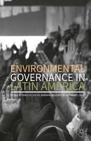 Environmental Governance in Latin America PDF