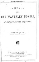 A Key to All the Waverley Novels  in Chronological Sequence PDF