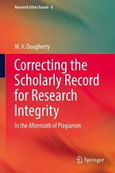 Correcting the Scholarly Record for Research Integrity PDF