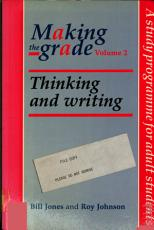 Making the Grade  Thinking and writing PDF