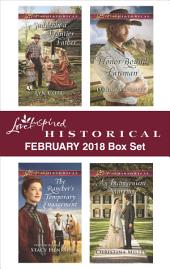 Love Inspired Historical February 2018 Box Set: Suddenly a Frontier Father\The Rancher's Temporary Engagement\Honor-Bound Lawman\An Inconvenient Marriage