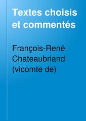 Textes choisis et commentés: Volume1