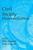 Civil Society in Democratization PDF