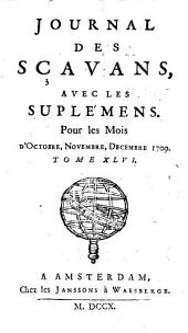 Journal des Savants: Volume47